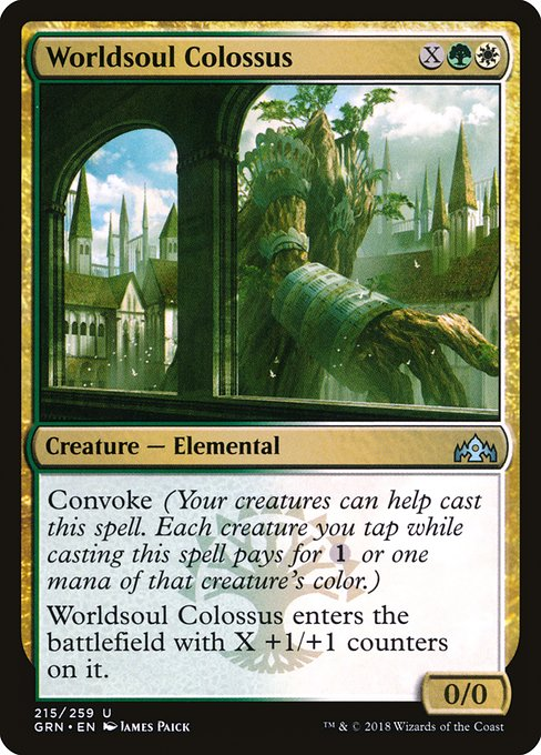 Worldsoul Colossus (GRN)