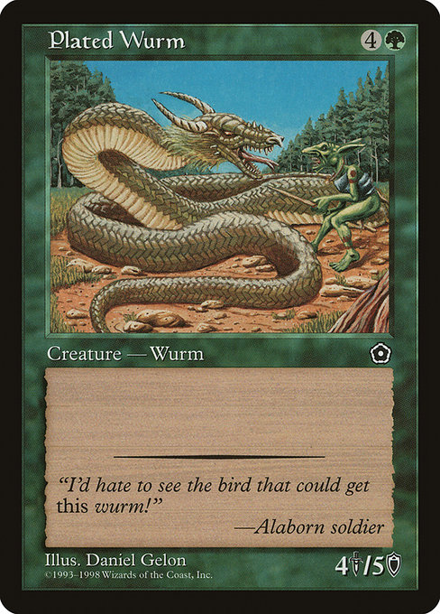 Plated Wurm (P02)