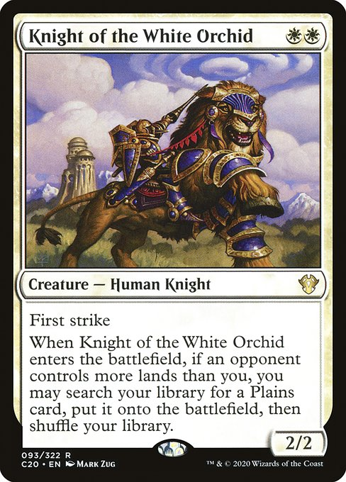Knight of the White Orchid (C20)