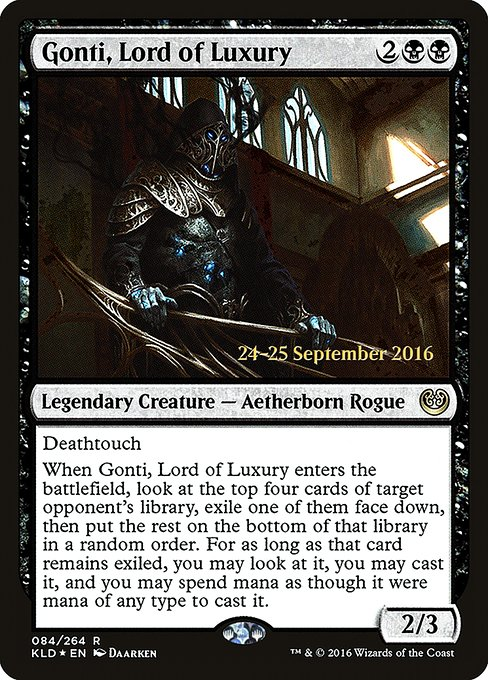 Gonti, Lord of Luxury (PKLD)