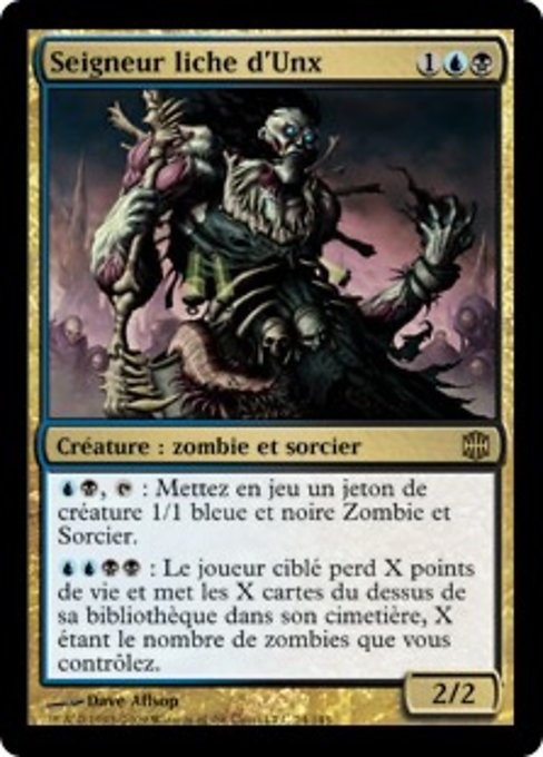 Lich Lord of Unx (ARB)