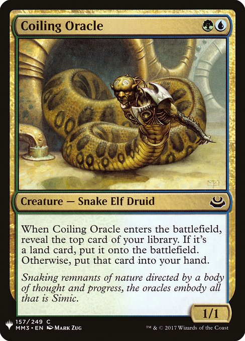 Coiling Oracle (MB1)