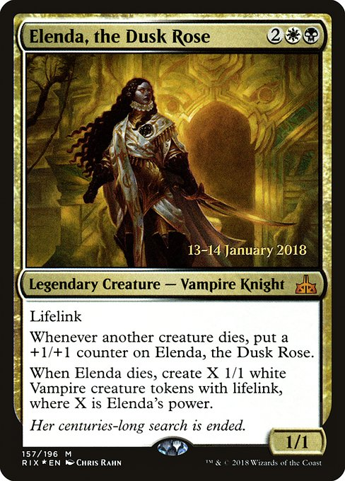 Elenda, the Dusk Rose (PRIX)