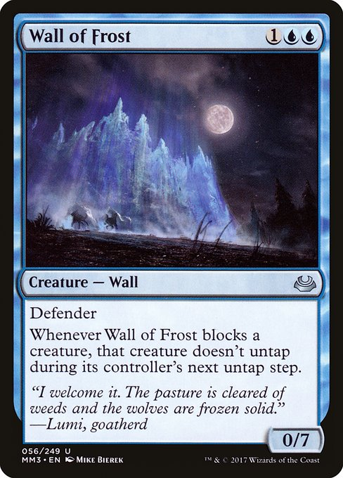 Wall of Frost (MM3)