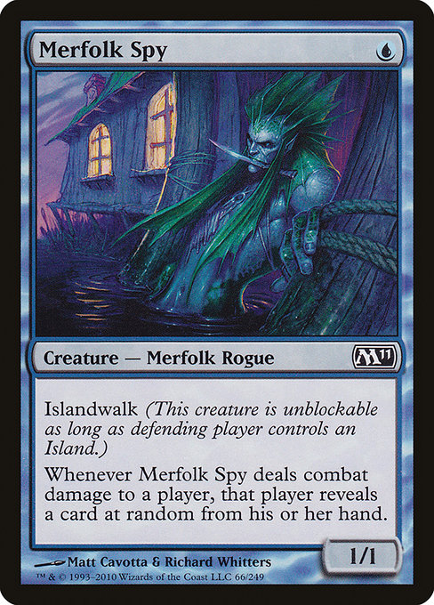 Merfolk Spy (M11)