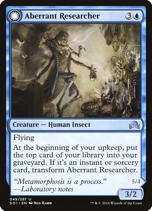Aberrant Researcher // Perfected Form (SOI)
