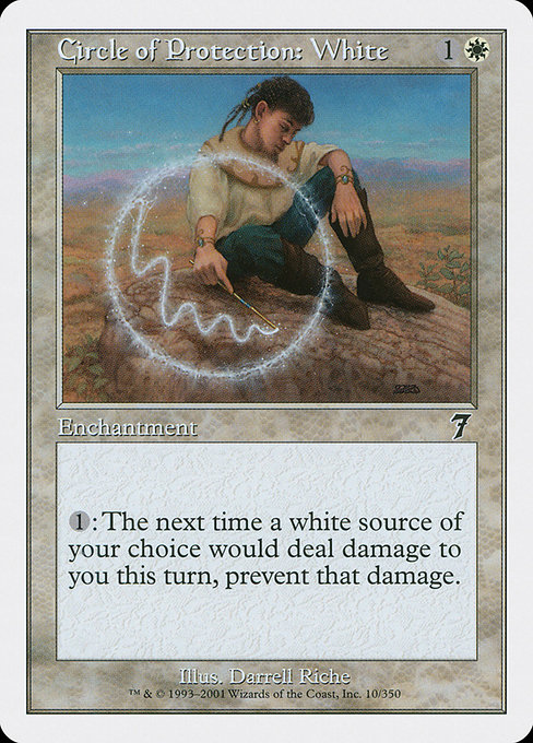 Circle of Protection: White (7ED)