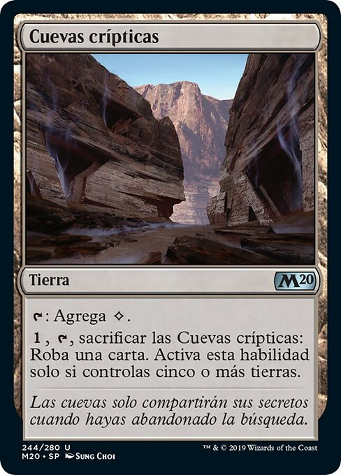 Cryptic Caves (M20)