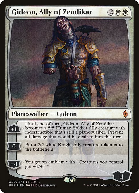 Gideon, Ally of Zendikar (PS16)