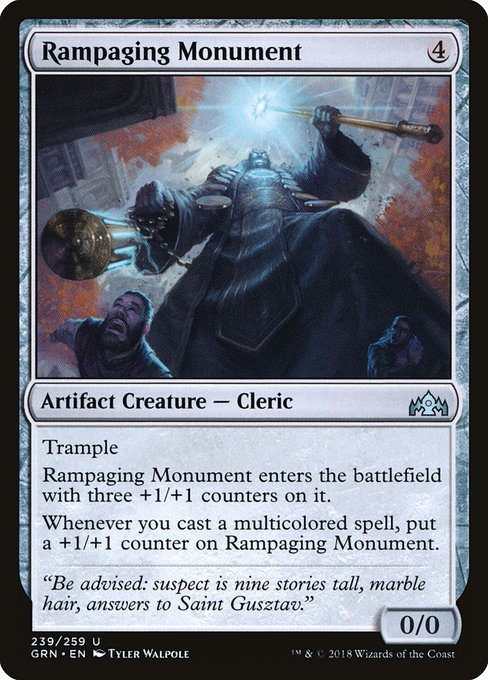 Rampaging Monument (GRN)
