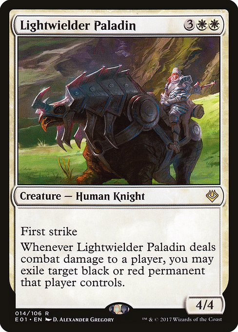 Lightwielder Paladin (E01)