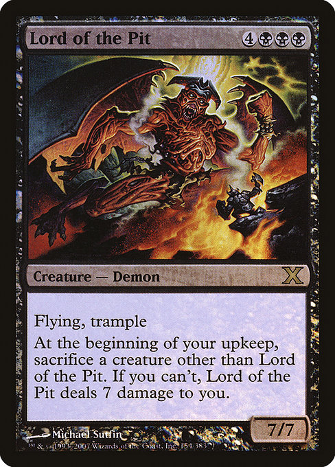 Lord of the Pit (10E)