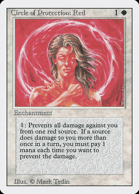 Circle of Protection: Red (3ED)