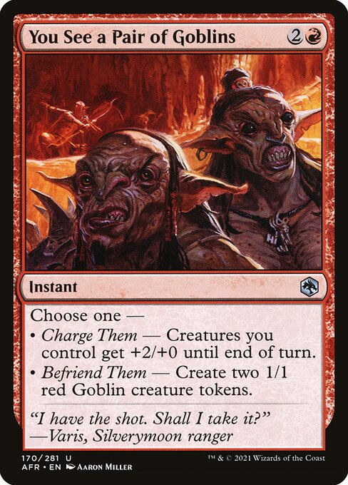 You See a Pair of Goblins (AFR)
