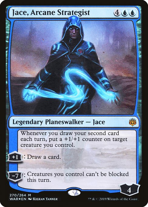 Jace, Arcane Strategist (WAR)