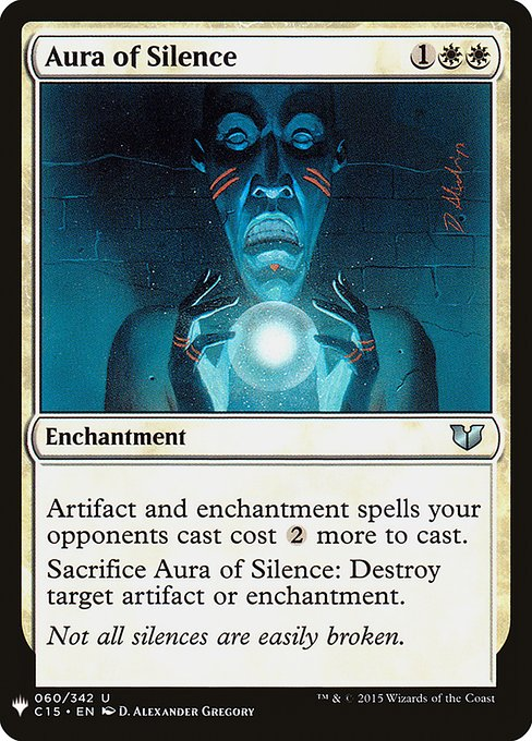 Aura of Silence (MB1)