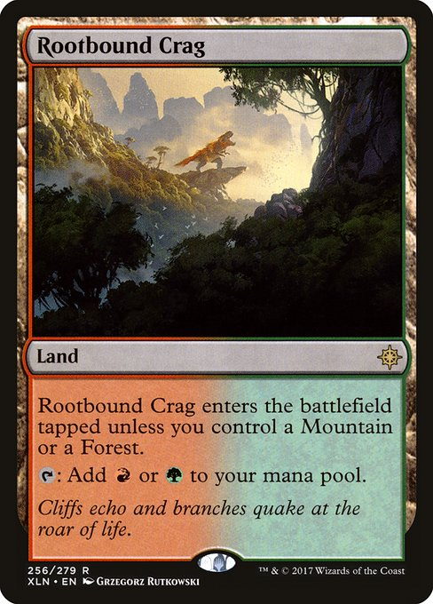 Rootbound Crag (XLN)