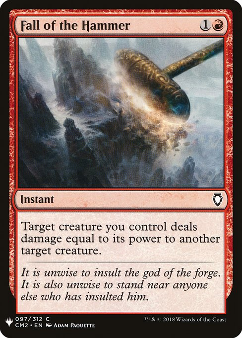 Fall of the Hammer (MB1)