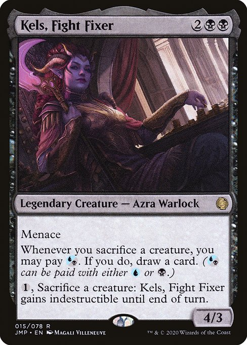Kels, Fight Fixer (JMP)
