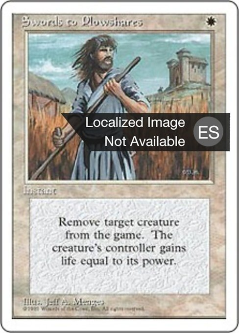Swords to Plowshares (4ED)