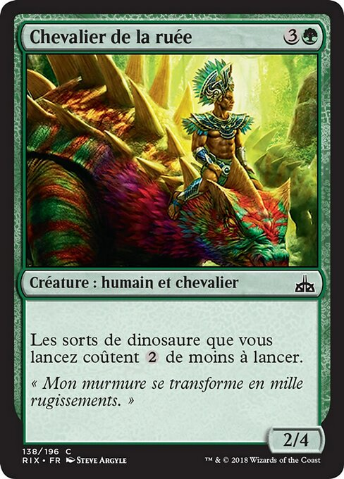 Knight of the Stampede (RIX)