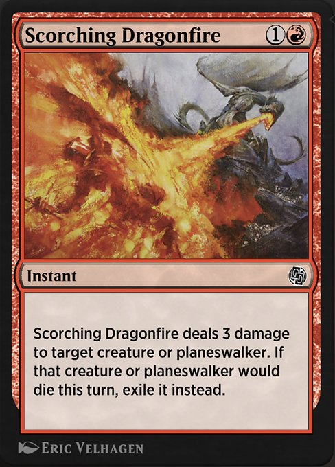 Scorching Dragonfire (AJMP)