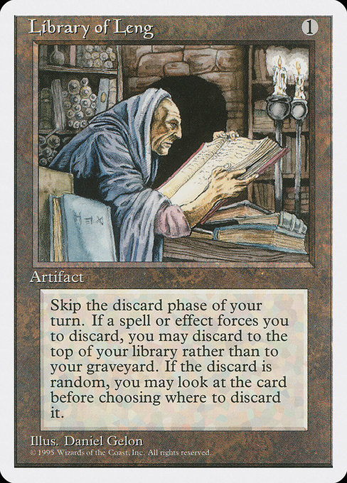 Library of Leng (4ED)