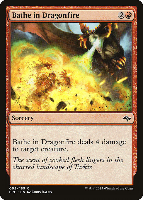 Bathe in Dragonfire (FRF)