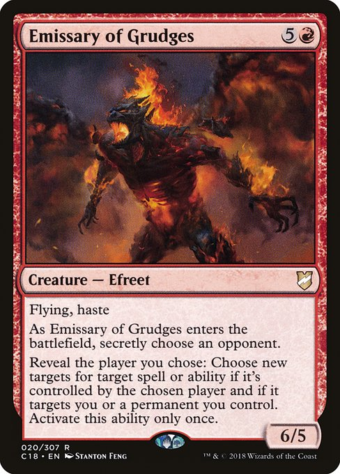 Emissary of Grudges (C18)