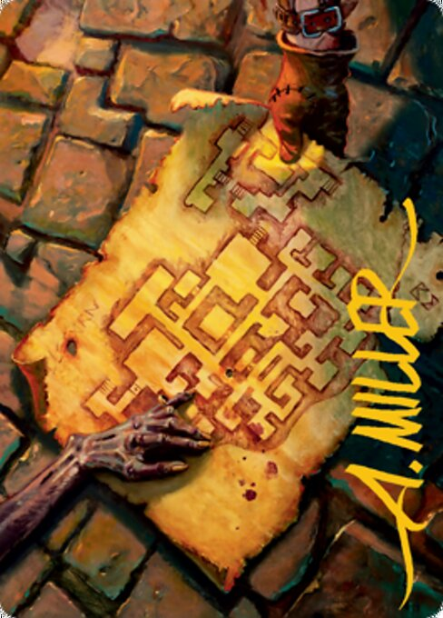 Dungeon Map // Dungeon Map (AAFR)