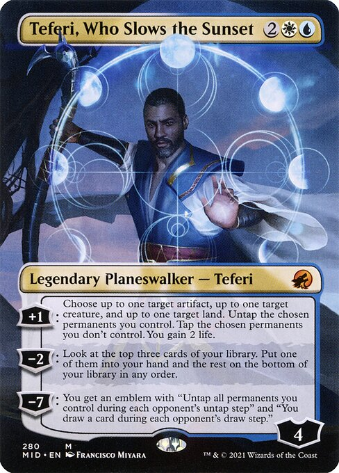 Teferi, Who Slows the Sunset (MID)