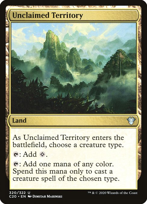 Unclaimed Territory (C20)