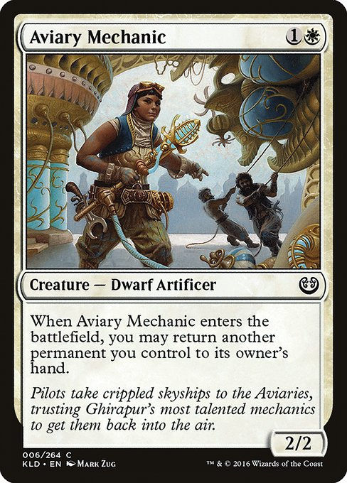 Aviary Mechanic (KLD)