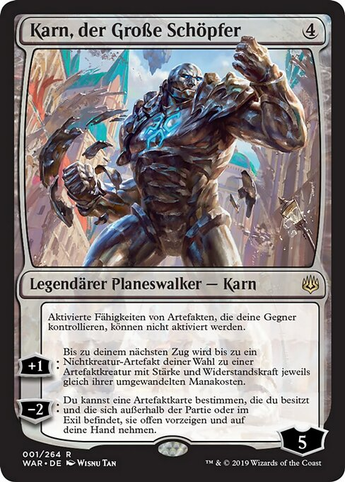 Karn, the Great Creator (WAR)