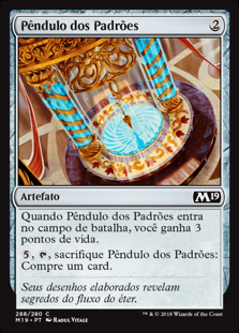 Pendulum of Patterns (M19)