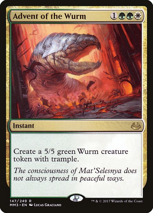 Advent of the Wurm (MM3)