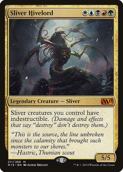 Sliver Hivelord (M15)