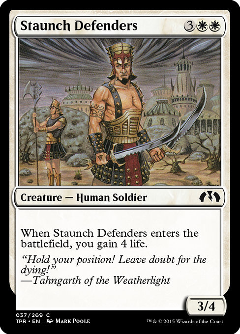 Staunch Defenders (TPR)