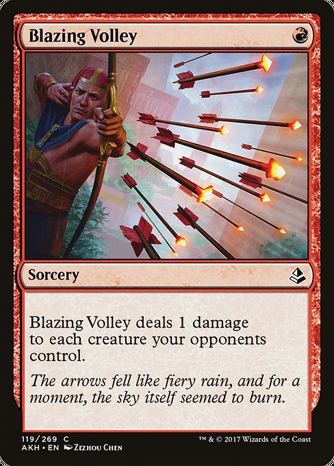 Blazing Volley (AKH)