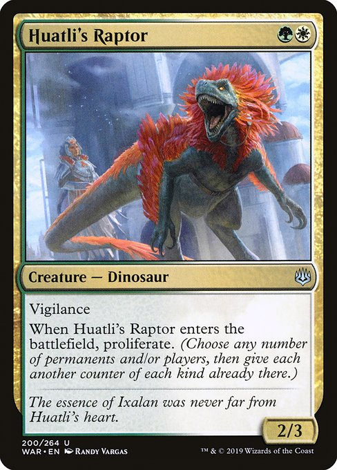 Huatli's Raptor (WAR)