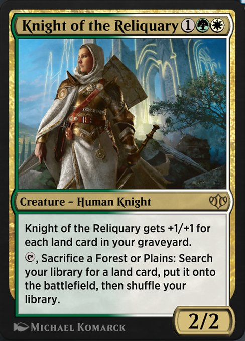 Knight of the Reliquary (HA2)