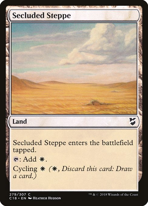 Secluded Steppe (C18)