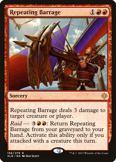 Repeating Barrage (XLN)