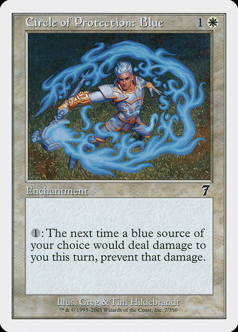 Circle of Protection: Blue (7ED)