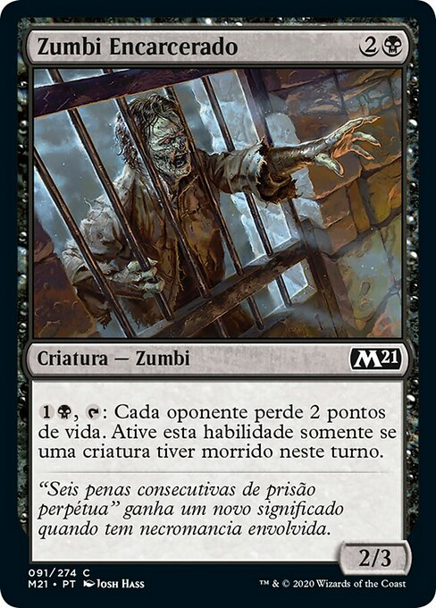 Caged Zombie (M21)