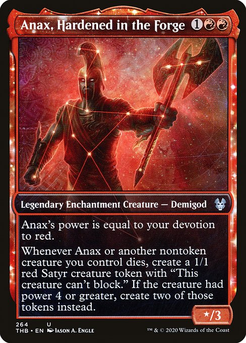 Anax, Hardened in the Forge (THB)