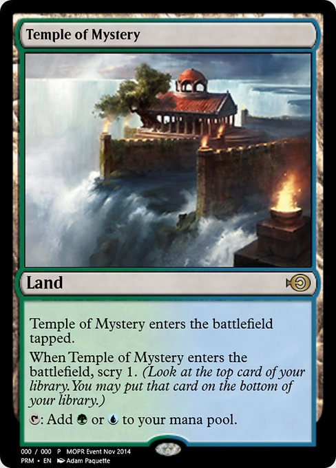 Temple of Mystery (PRM)