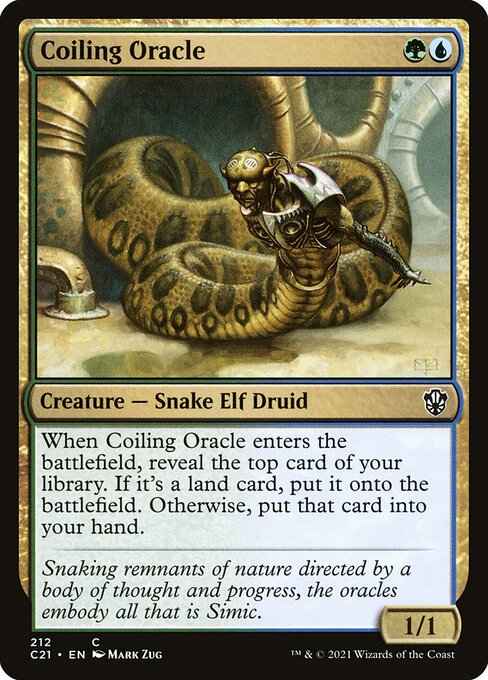 Coiling Oracle (C21)