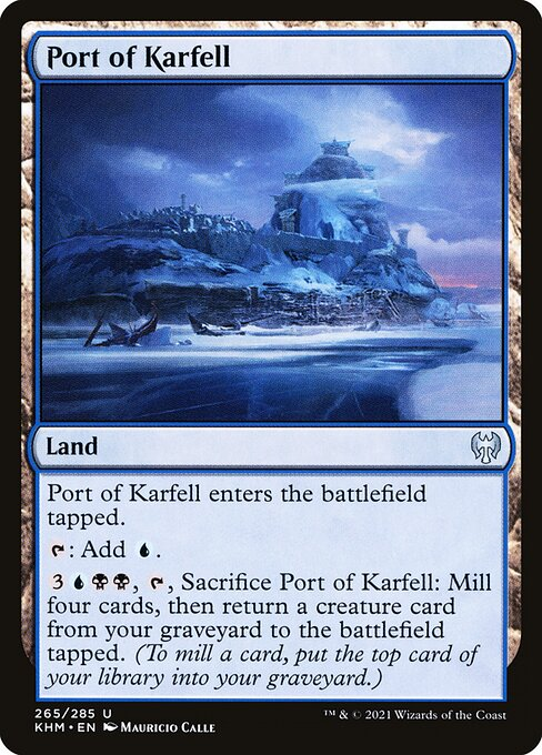 Port of Karfell (KHM)