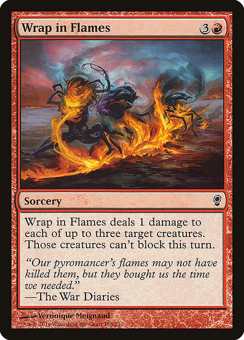 Wrap in Flames (CNS)